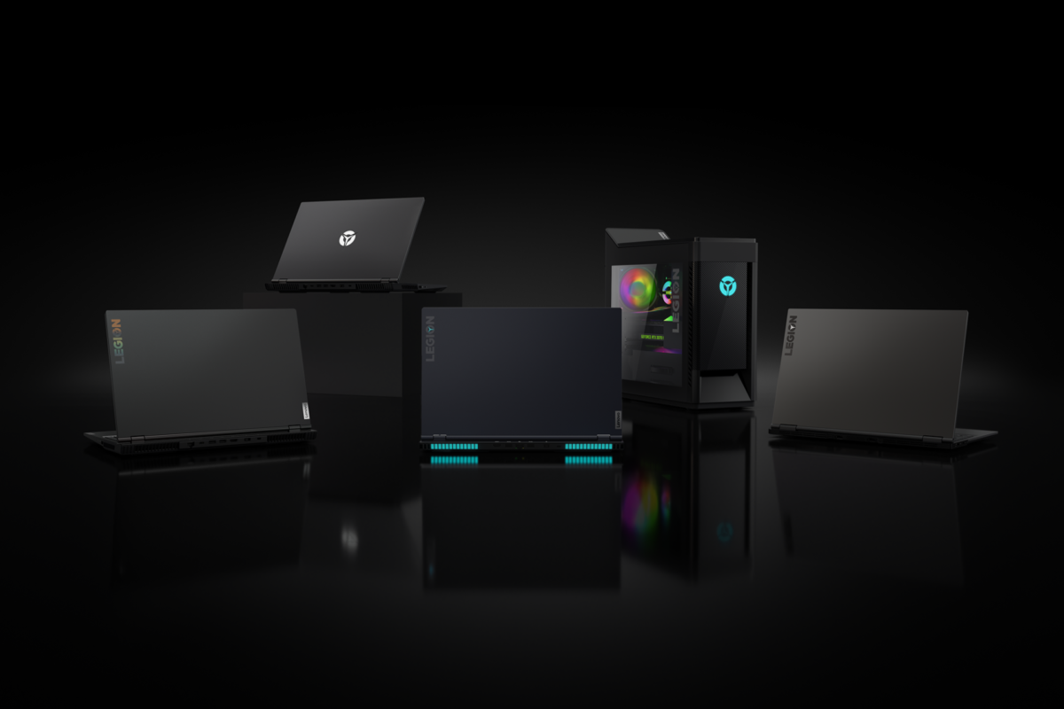 La lineup di PC Lenovo Legion ideale per i gamer