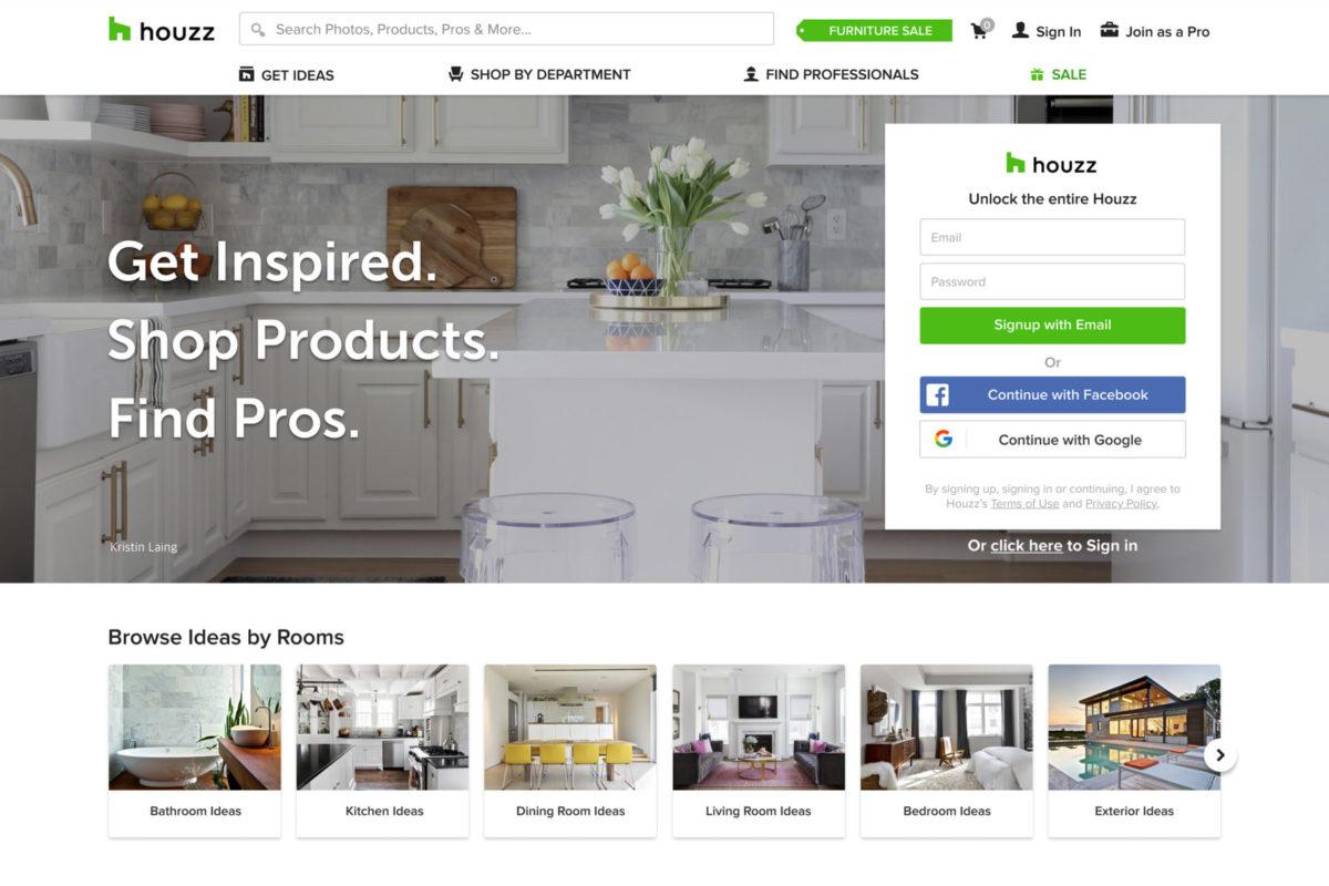 Houzz, l'app che reinventa la tua casa
