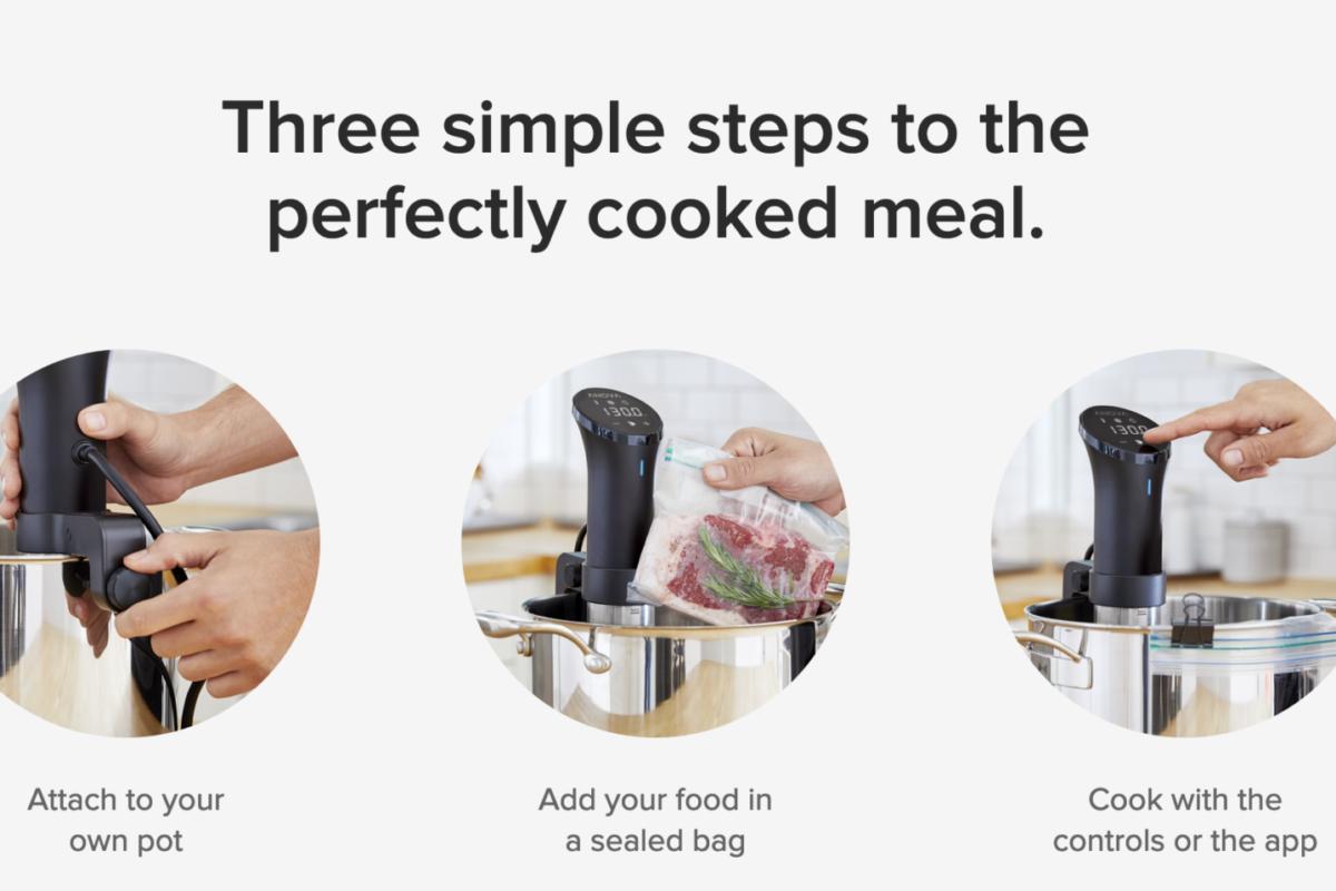 Anova Precision Cooker: la prova della cottura (sottovuoto) da chef