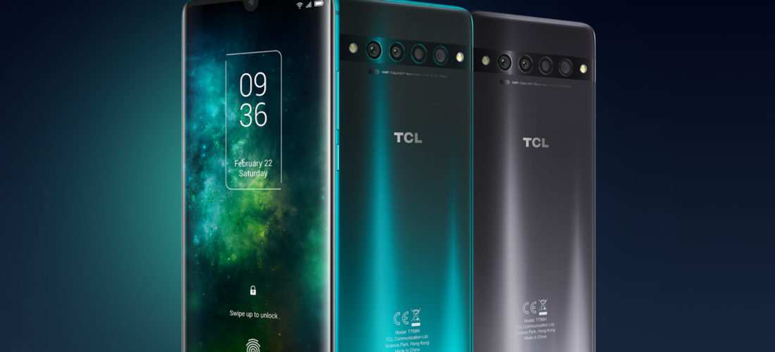 TCL: 3 nuovi smartphone e i devices SCD