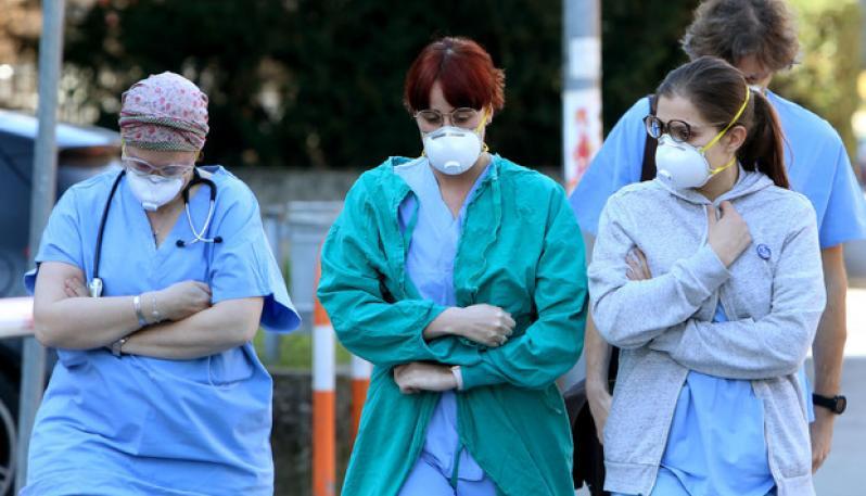 """Bonsignore: """"Noi medici, mandati a morire senza protezioni"""""""