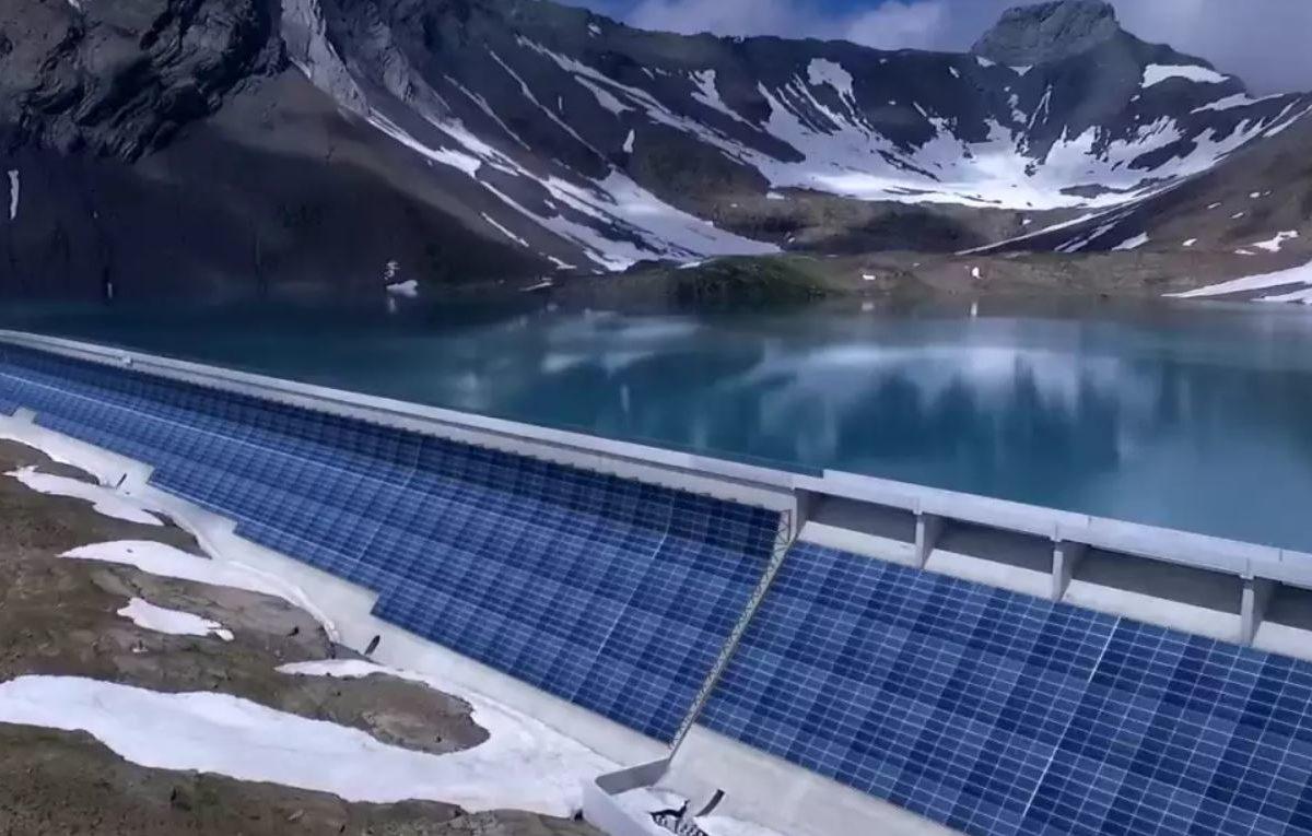 Axpo, al via il più grande impianto fotovoltaico in Svizzera
