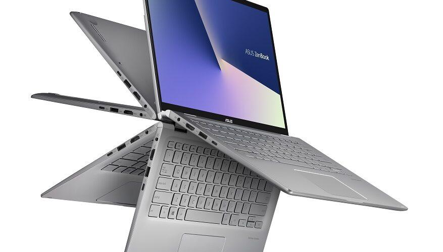 Il ZenBook Flip 14 di ASUS