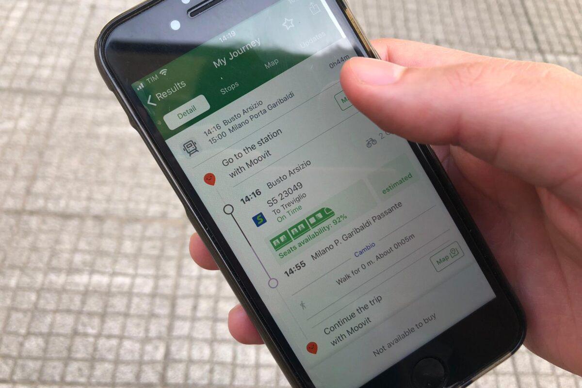Emergenza Covid: l'App di Trenord in aiuto dei viaggiatori