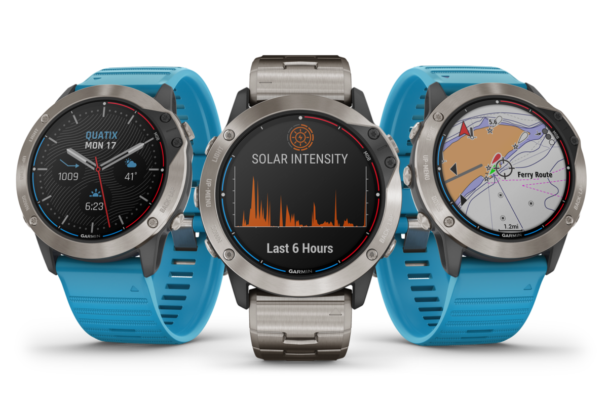 Lo sportwatch Garmin quatix 6X Solar