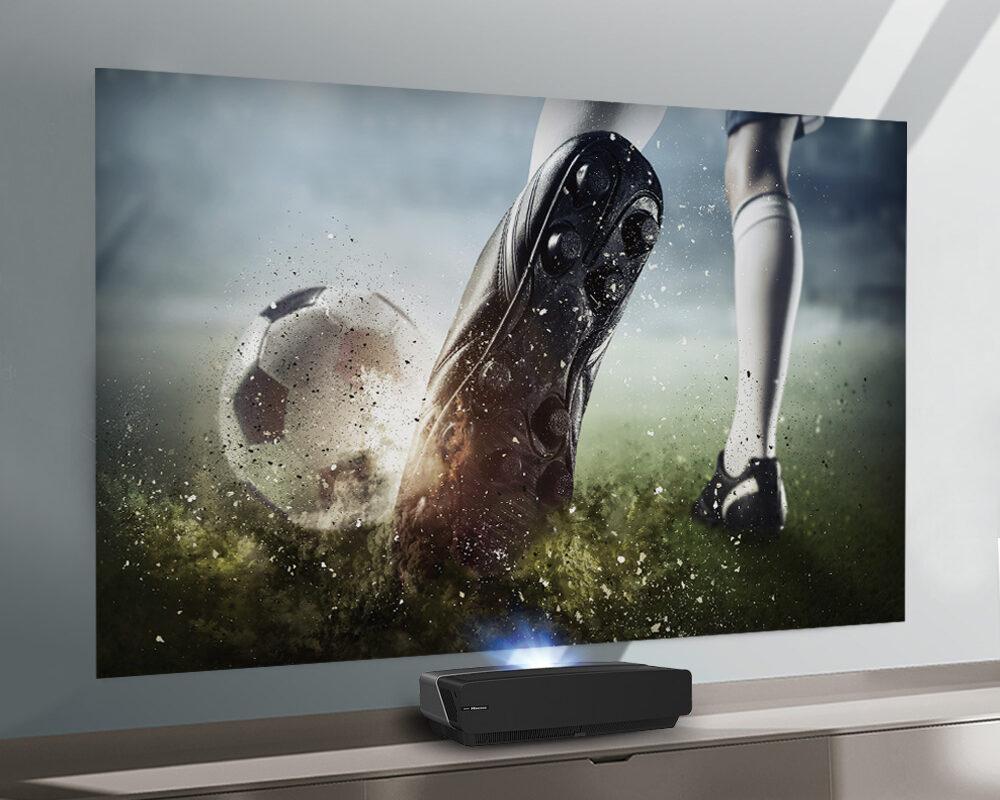 La Hisense Laser TV 100L5F