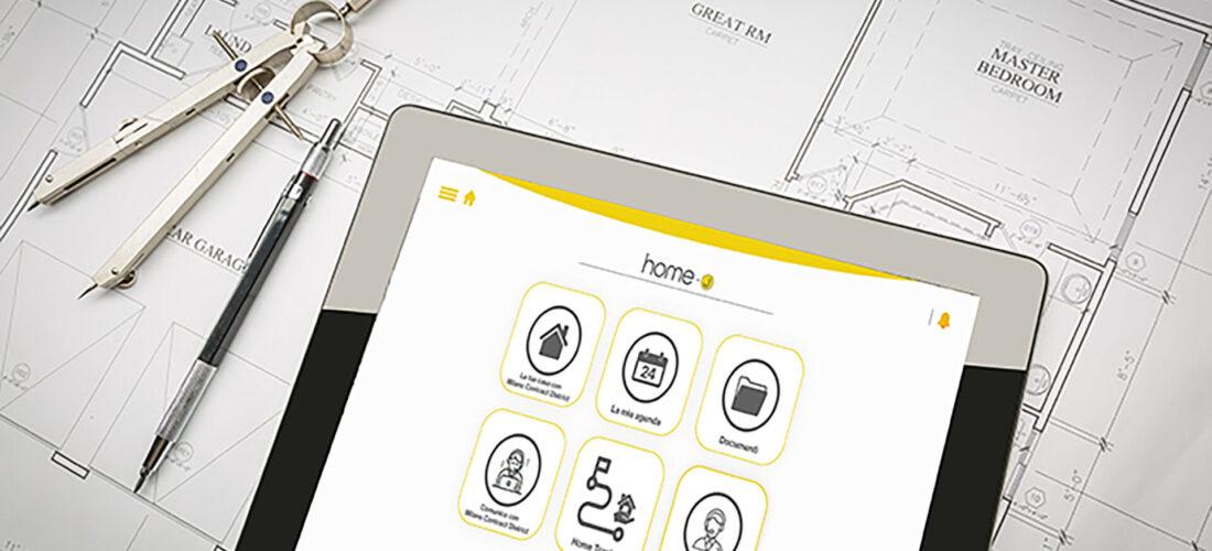 La nuova App Home-J di Milano Contract District