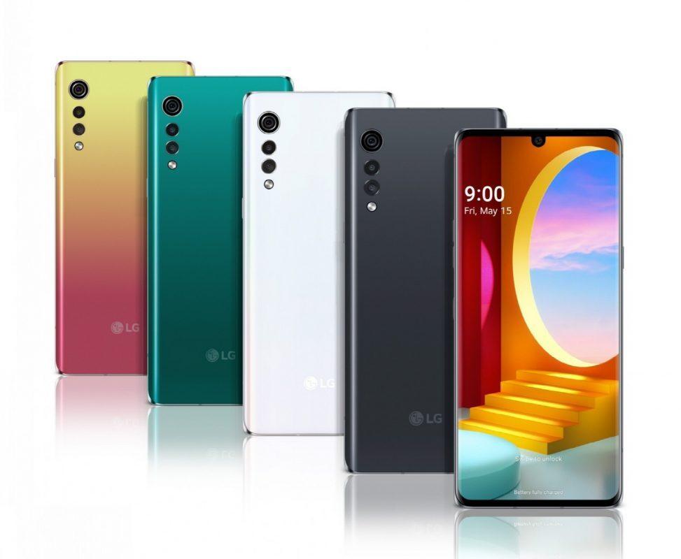 Lo smartphone LG Velvet parte dal design