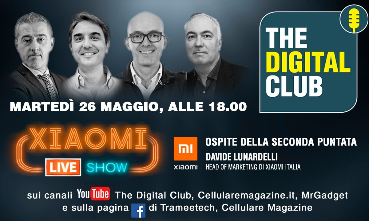 The Digital Club, lo show con Xiaomi