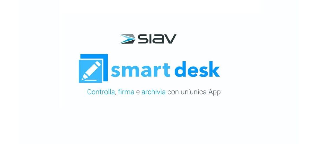 La Smart Desk di Siav