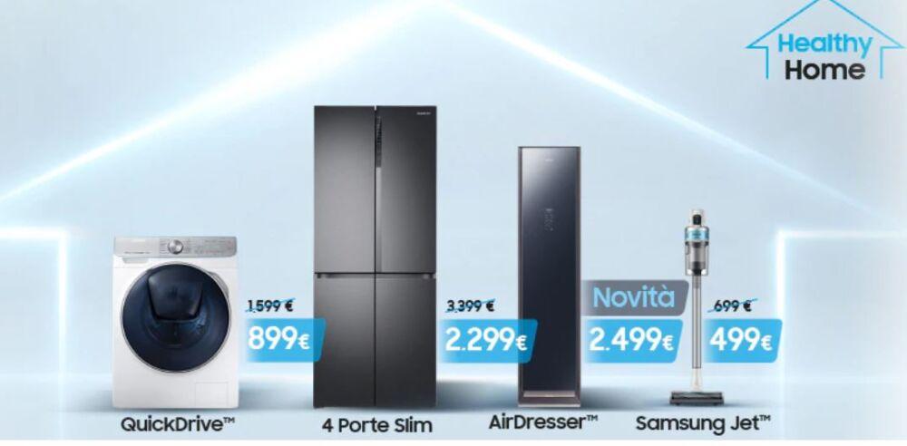 L'igiene smart degli elettrodomestici Samsung. Intervista a Emanuele De Longhi