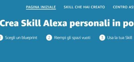 Amazon: le novità di Alexa Skill Blueprint