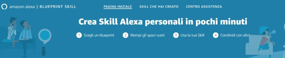 Amazon: le novità di Alexa Skill Blueprint