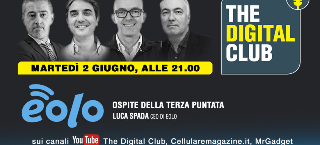 The Digital Club, domani terza puntata