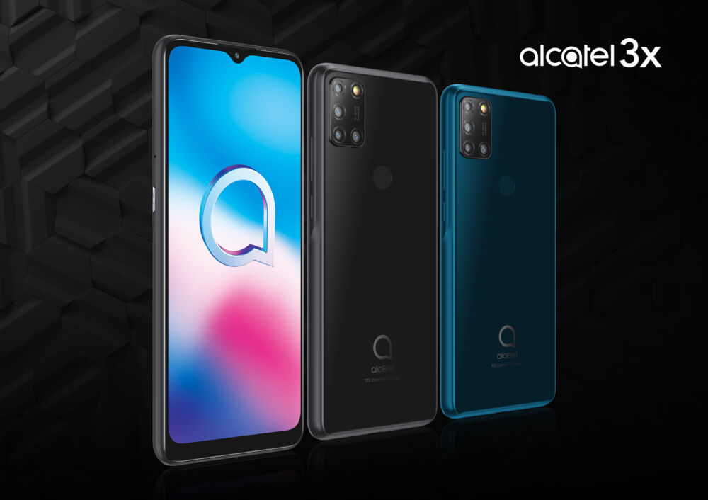 Lo smartphone Alcatel 3X (2020) disponibile in Italia