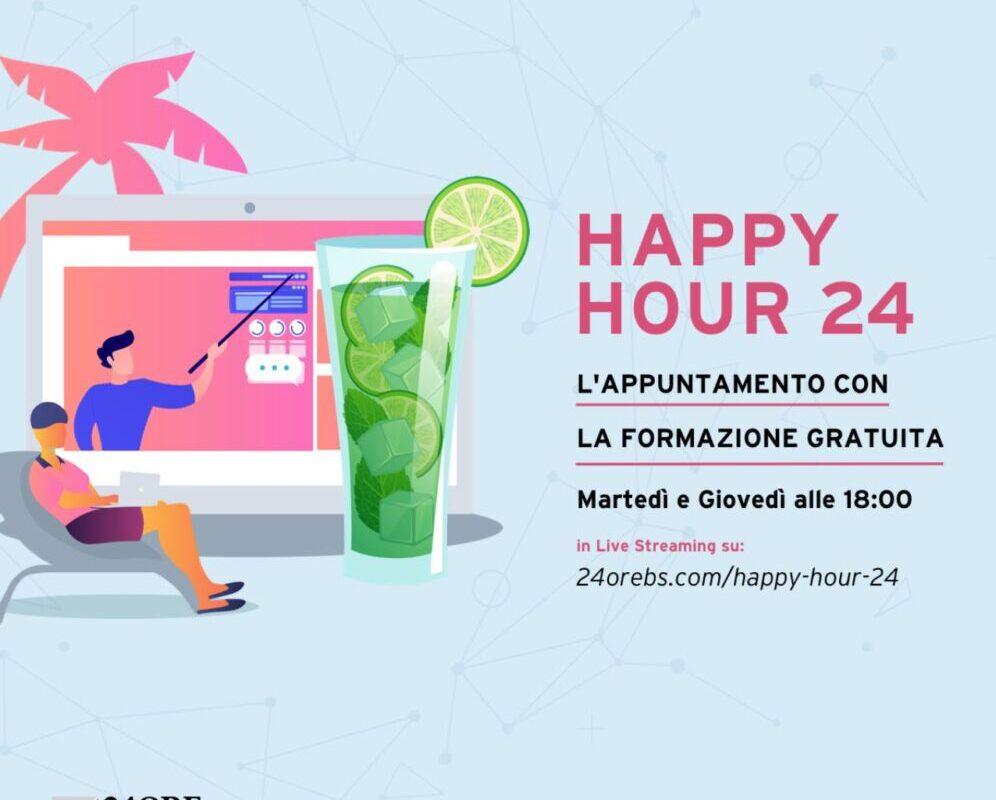 La seconda edizione di Happy Hour 24 della 24ORE Business School in versione Summer Edition