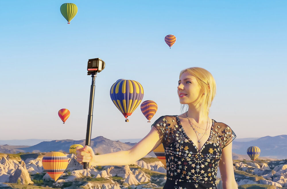 L'action cam adattiva Insta360 ONE R