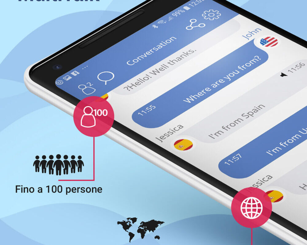 MultiTalk, l'app multilingue di Vasco Electronics