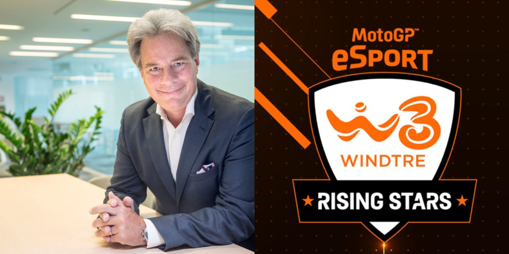 Romba la MotoGP eSport: via alla WINDTRE Rising Stars Series