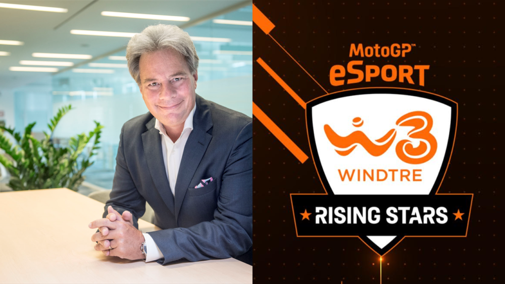 Romba la MotoGP eSport: via alla WINDTRE Rising Stars Series