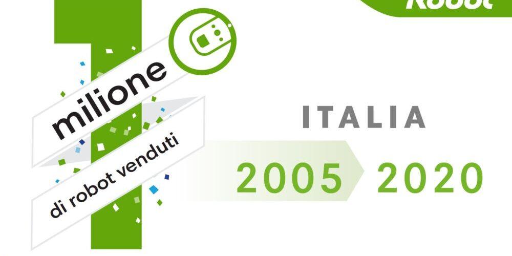 iRobot Roomba: raggiunto il primo milione di vendite in Italia