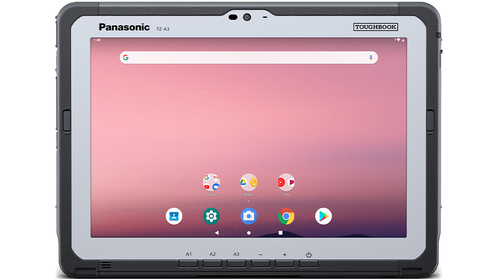 Il tablet rugged Android Toughbook A3 di Panasonic