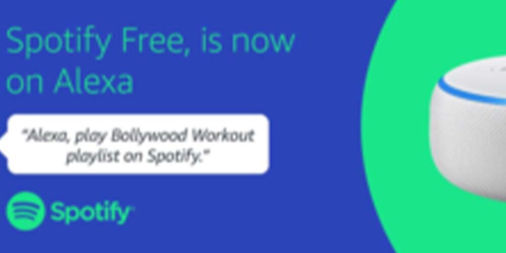 Amazon: Spotify Free disponibile su Alexa
