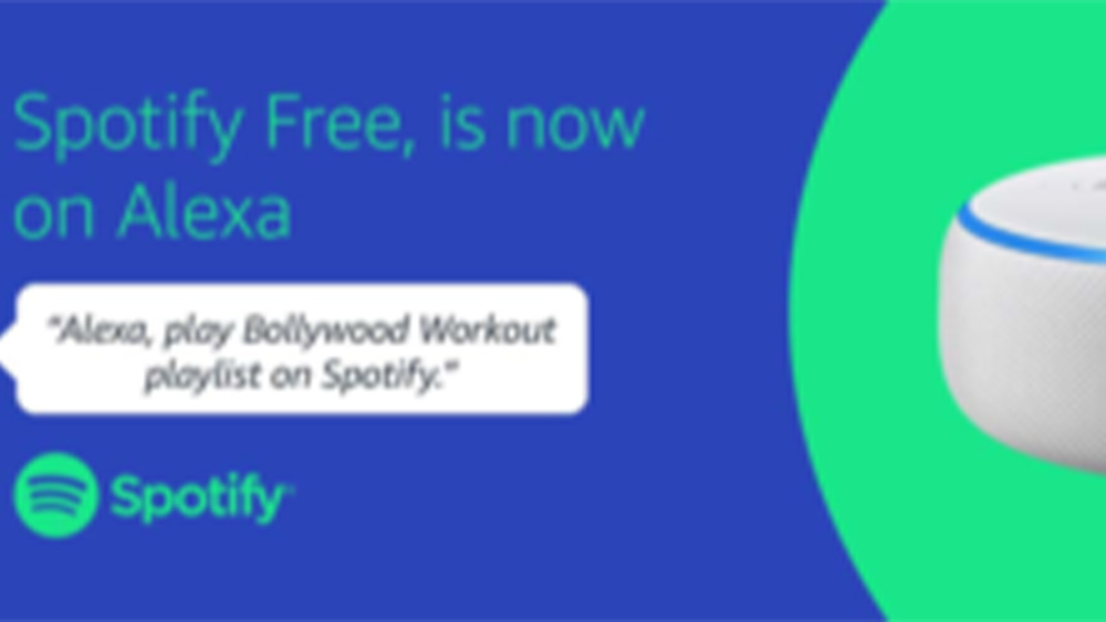 Amazon: Spotify Free disponibile su Alexa