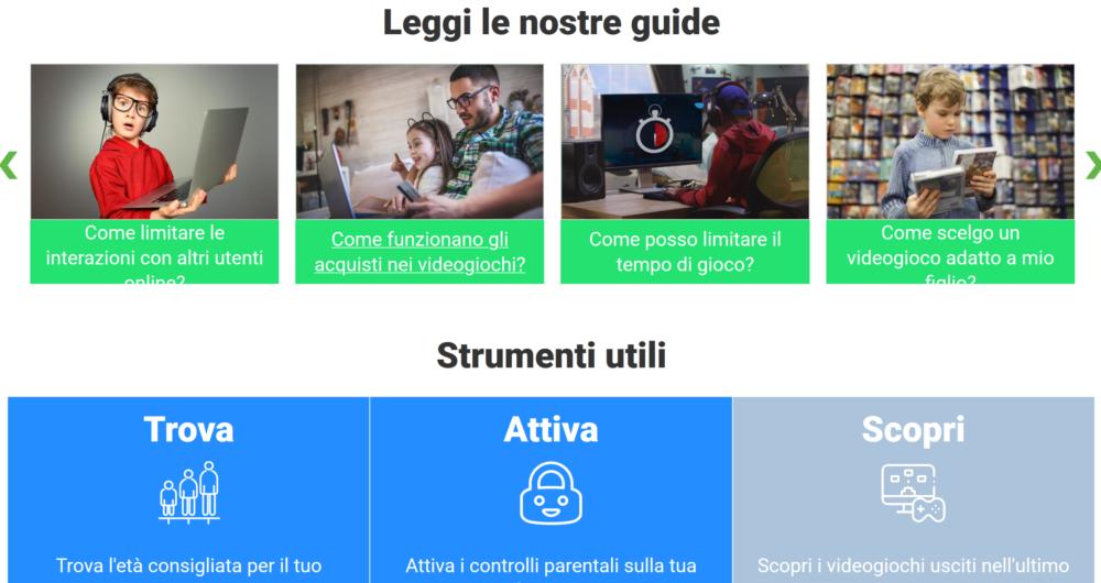 Tutto sui videogiochi, il nuovo portale di IIDEA per le famiglie