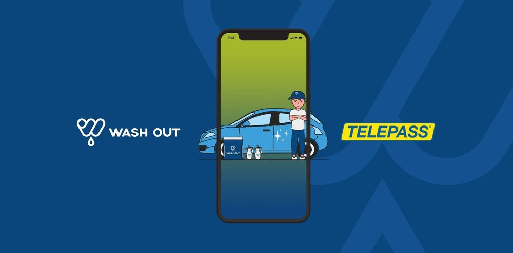 Telepass: acquistato il 70% di Wash Out