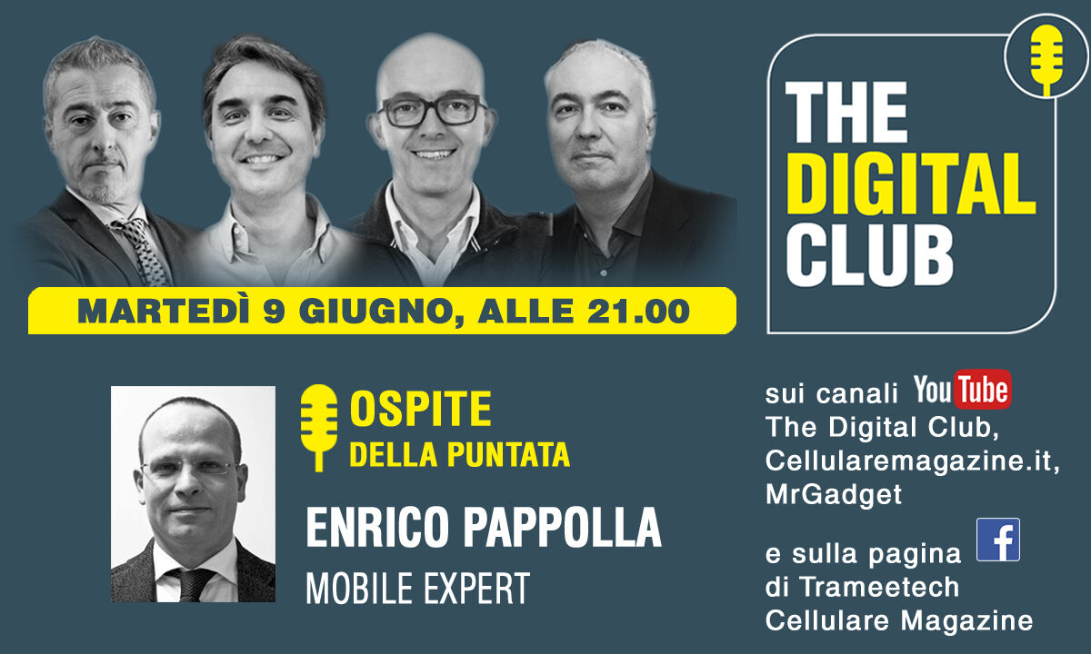 Come rivedere The Digital Club con ospite Enrico Pappolla