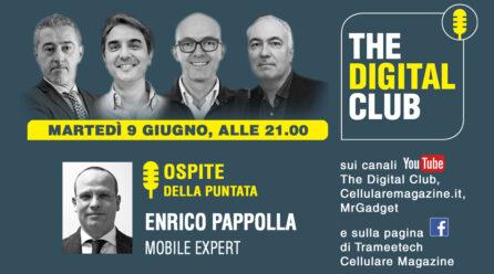 Come rivedere The Digital Club con ospite Enrico Pappolla