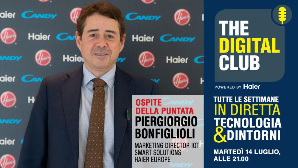 Piergiorgio Bonfiglioli ospite di The Digital Club powered by Haier