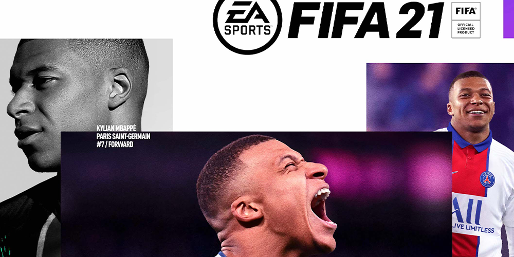 Kylian Mbappè uomo copertina di FIFA 2021