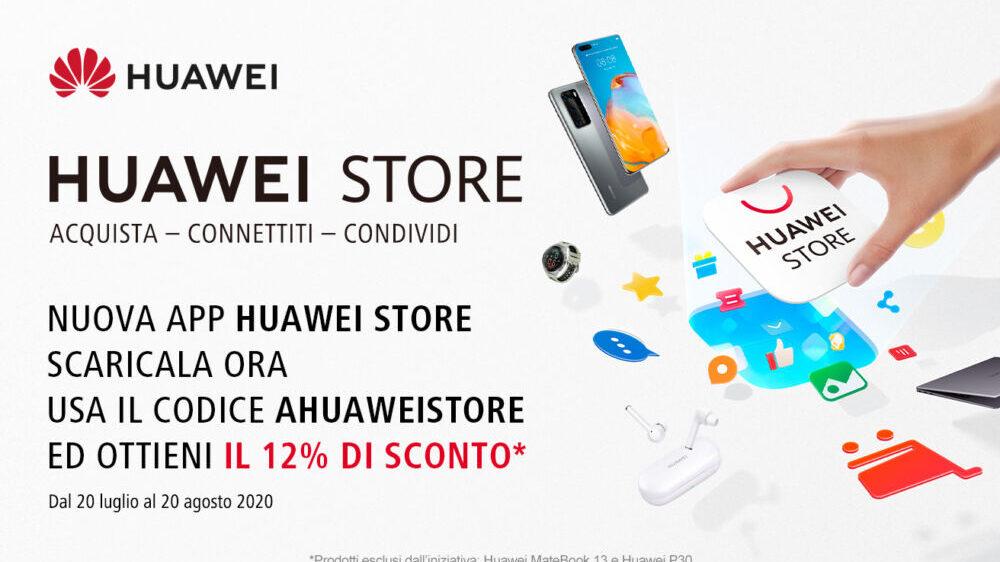 E-commerce: ecco l'App di Huawei per gli acquisti online