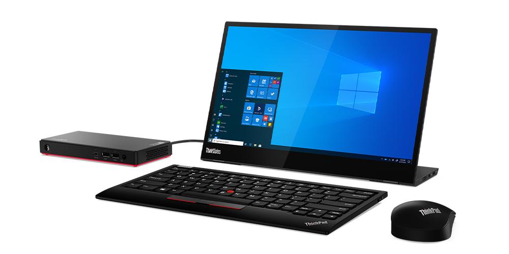 I PC desktop ThinkCentre M75n e M75n IoT Nano di Lenovo