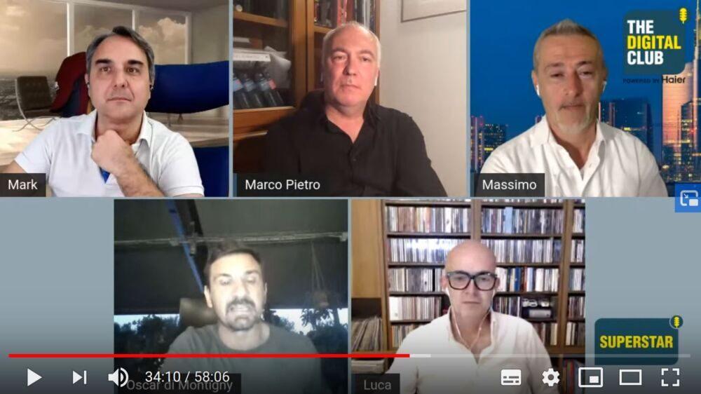 The Digital Club con Oscar di Montigny: come rivedere la puntata