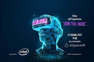 Join the Indie, la presentazione dei videogiochi indipendenti italiani svolta in realtà virtuale
