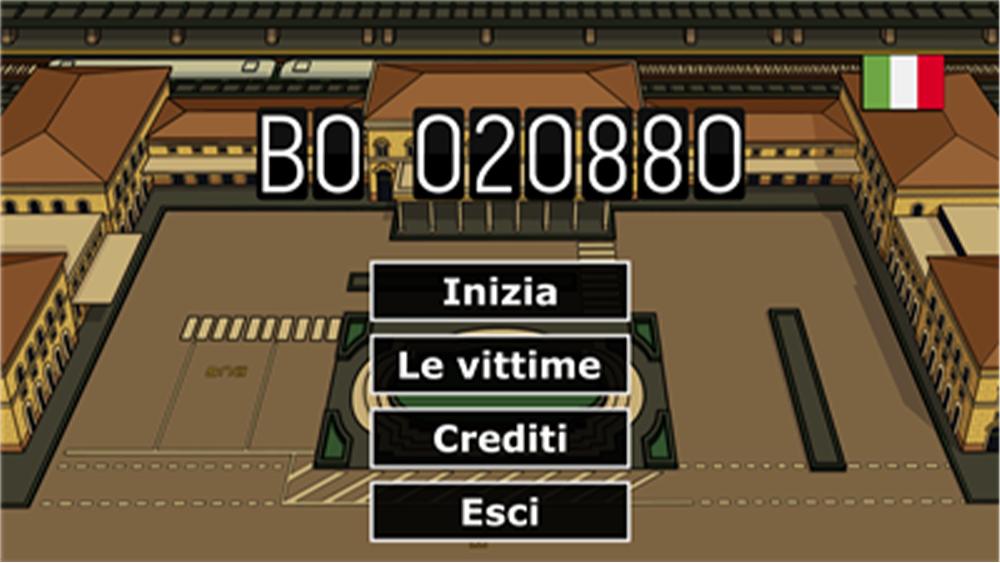 BO020880, la novel sulla strage di Bologna tra le nuove storie di Game To Human di IIDEA