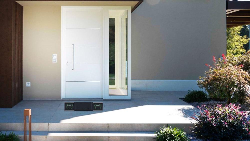 e-mat DOM01, il tappetino da ingresso hi-tech per una casa più igienica