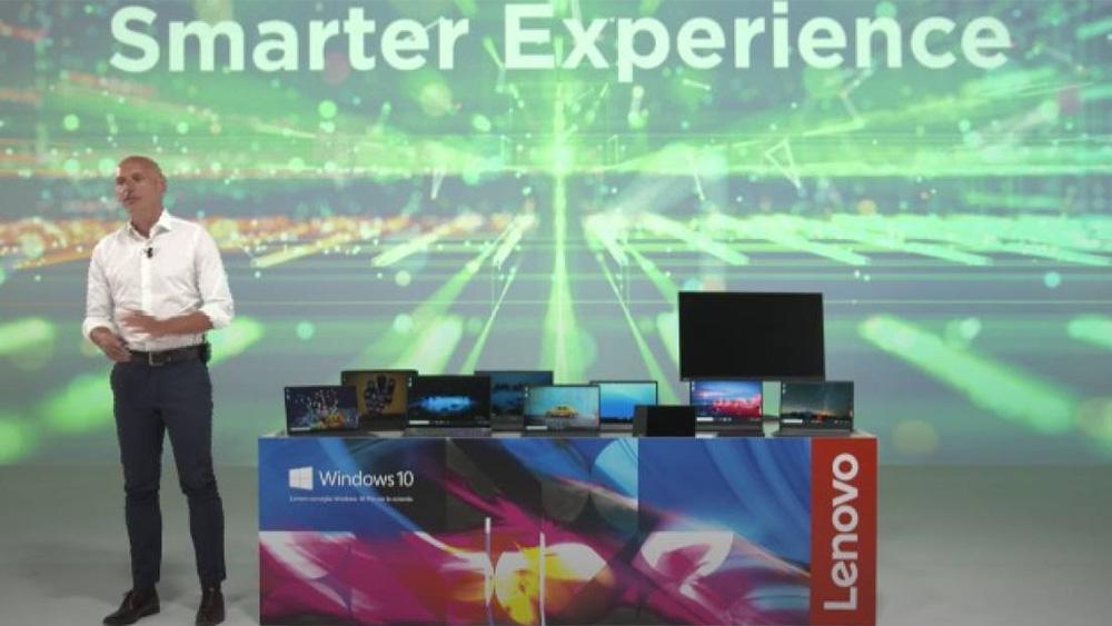 Lenovo annuncia una nuova crescita di fatturato