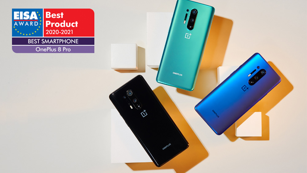 "EISA: OnePlus 8 Pro il ""Best Smartphone"" (e OPPO Find X2 è ""Advanced"")"