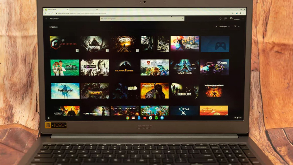 La piattaforma gaming GeForce Now ora funziona anche sui Chromebook