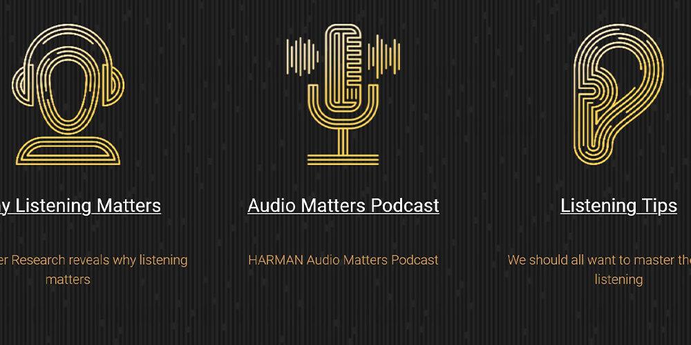 Harman e il sito per imparare ad ascoltare la musica