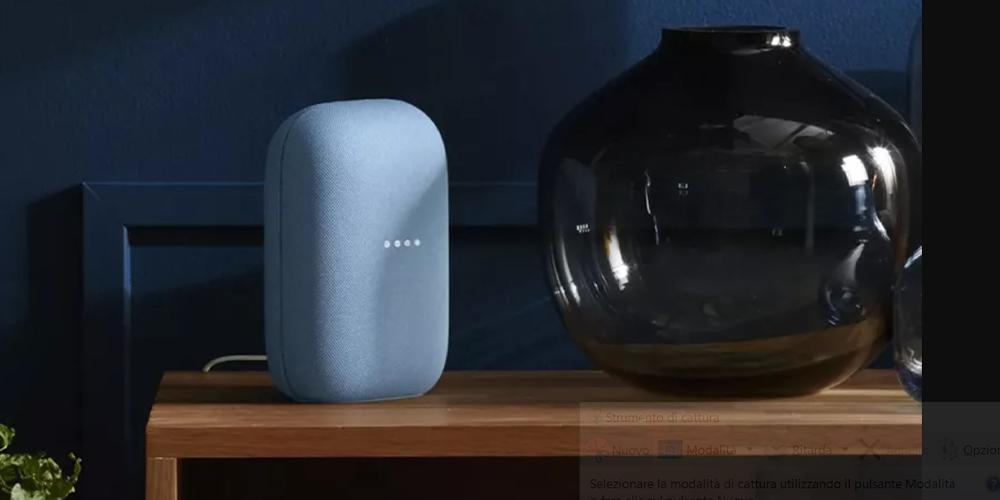 Il nuovo speaker Google Nest in arrivo entro fine agosto
