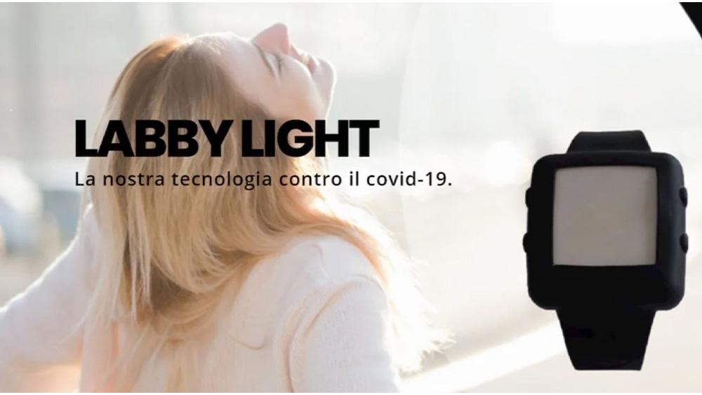 Labby Light, il braccialetto anti-Covid per il Giro d'Italia