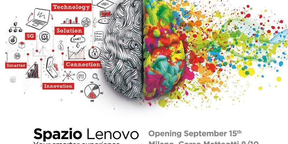 La campagna in grande stile per l'apertura di Spazio Lenovo a Milano