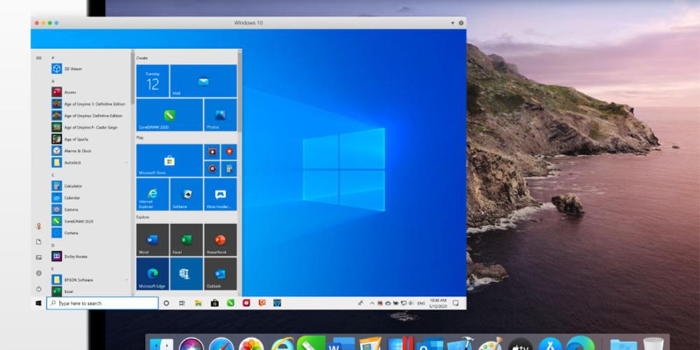 Parallels Desktop 16, per lavorare con Windows su Mac