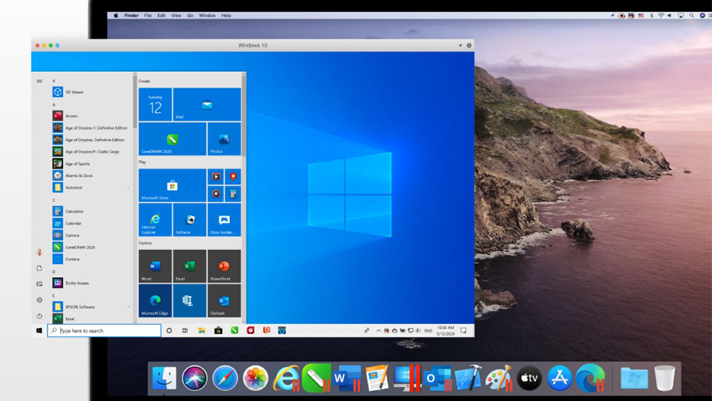 Parallels Desktop 16, per lavorare con Windows su Mac