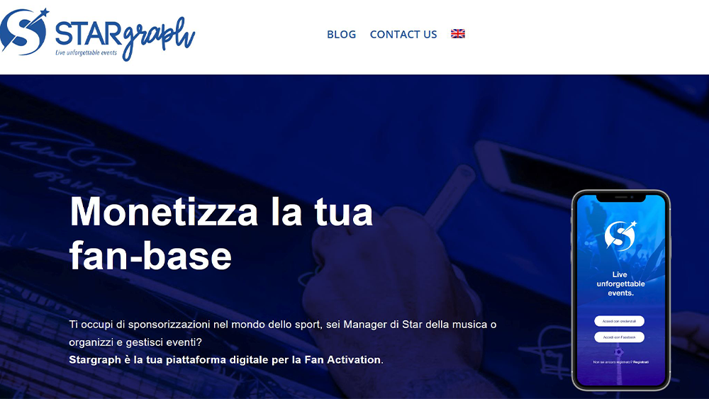 Stargraph, la start up che rende speciale essere un fan
